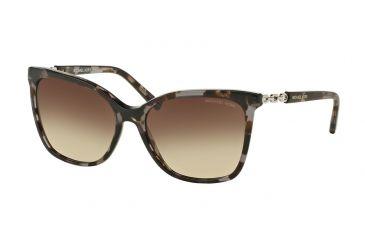 903185b5477d2 Michael Kors MK 6029 MK6029 Sunglasses 310713-56 - Black Tortoise Silver  Frame