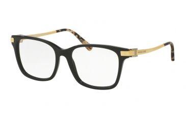 27741e1bde5 Michael Kors MK4033F Eyeglass Frames 3171-54 - Black Frame