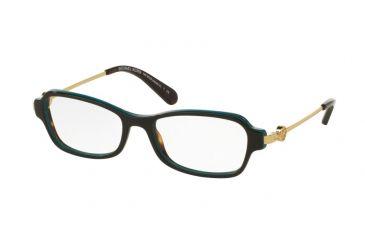 f2d1dc67103 Michael Kors MK8023F Eyeglass Frames 3133-52 - Dk Tortoise  Turquoise Frame