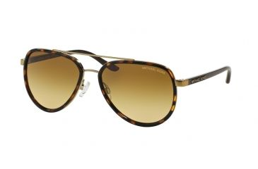 f9b883c30931 Michael Kors PLAYA NORTE MK5006 Sunglasses 10342L-57 - Tortoise / Gold  Frame, Warm