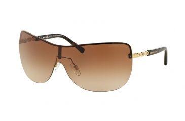 063dc02b55bd Michael Kors SABINA I MK5013 Sunglasses 102413-35 - Gold Frame, Brown Gradient  Lenses