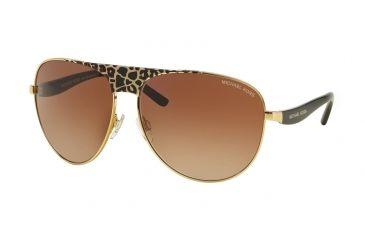1e2c1255280 Michael Kors SADIE II MK1006 Sunglasses 105713-62 - Black Gold  Leopard/black Frame