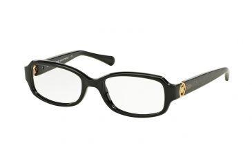 849650e87a6 Michael Kors TABITHA V MK8016 Eyeglass Frames 3099-52 - Black black Glitter  Frame