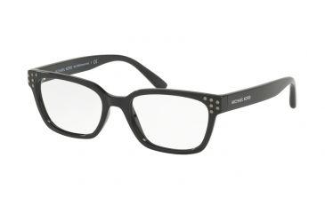 ec4d27fcddd7b Michael Kors VANCOUVER MK4056 Progressive Prescription Eyeglasses 3009-51 -  Black Frame