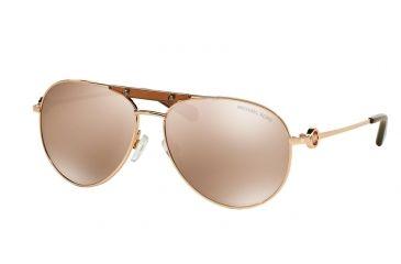 e296d3547a Michael Kors ZANZIBAR MK5001 Sunglasses 1003R1-58 - Rose Gold Frame