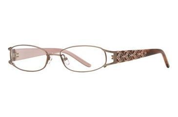 Michael Stars MS Abyss SEMS ABYS00 Single Vision Prescription Eyewear - Honey SEMS ABYS004930 GO