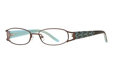 Michael Stars MS Abyss SEMS ABYS00 Single Vision Prescription Eyewear - Java SEMS ABYS004930 BN