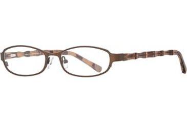 Michael Stars MS Adventurous SEMS ADVE00 Bifocal Prescription Eyeglasses - Bamboo SEMS ADVE005135 BN