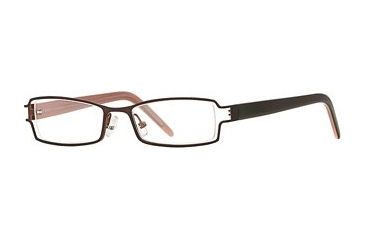 Michael Stars MS Ambitious SEMS AMBI00 Single Vision Prescription Eyewear - Chocolate SEMS AMBI004730 BN