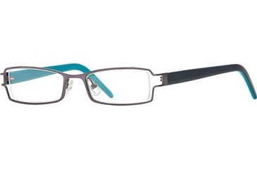 Michael Stars MS Ambitious SEMS AMBI00 Single Vision Prescription Eyewear - Moon SEMS AMBI004730 GM