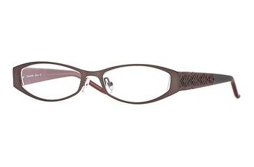 Michael Stars MS Bloom SEMS BLOO00 Single Vision Prescription Eyewear - Overcast SEMS BLOO004930 GY