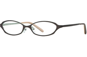 Michael Stars MS Bright Eyes SEMS BRIG00 Progressive Prescription Eyeglasses - Sienna Sea SEMS BRIG005025 BN