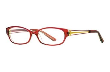 Michael Stars MS Casual Chic SEMS CASU00 Progressive Prescription Eyeglasses - Plum Stain SEMS CASU005235 RD
