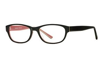 Michael Stars MS Chill Out SEMS CHIL00 Single Vision Prescription Eyewear - Black Lotus SEMS CHIL005235 BK