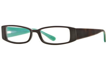 Michael Stars MS Crush SEMS CRUS00 Bifocal Prescription Eyeglasses - Amber Jade SEMS CRUS005335 TO