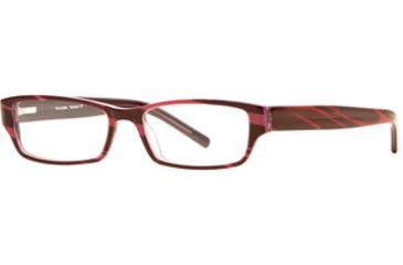 Michael Stars MS Devious SEMS DEVI00 Single Vision Prescription Eyeglasses - Wild Berry SEMS DEVI005145 PU