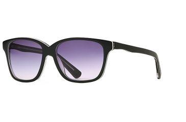 Michael Stars MS Eclipse SEMS ECLI06 Single Vision Prescription Sunglasses SEMS ECLI065435 BK - Lens Diameter 54 mm, Frame Color Black Lucite, Lens Diameter 60 mm