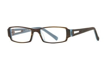 Michael Stars MS Expose SEMS EXPO00 Single Vision Prescription Eyewear - Teak Blue SEMS EXPO005235 BN
