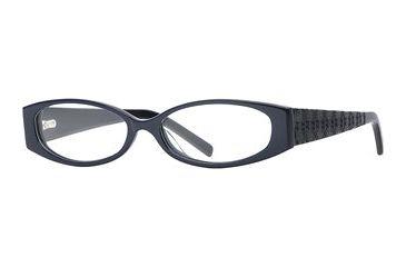 Michael Stars MS Inspire SEMS INSP00 Progressive Prescription Eyeglasses - Navy SEMS INSP005235 BL