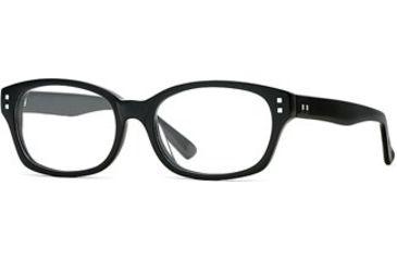 Michael Stars MS Punctual SEMS PUNC00 Progressive Prescription Eyeglasses - Black SEMS PUNC005240 BK