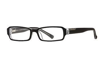 Michael Stars MS Serenity SEMS SERE00 Bifocal Prescription Eyeglasses - Black Lucite SEMS SERE004930 BK