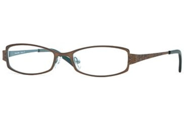Michael Stars MS Siesta SEMS SIES00 Single Vision Prescription Eyewear - Penny SEMS SIES005130 BN