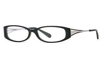 Michael Stars MS Sightsee SEMS SIGH00 Eyeglass Frames - Black SEMS SIGH005330 BK