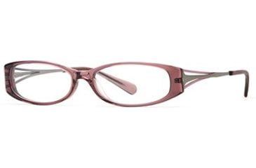 Michael Stars MS Sightsee SEMS SIGH00 Progressive Prescription Eyeglasses - Eggplant SEMS SIGH005330 PU