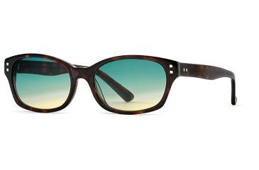 Michael Stars MS Tardy SEMS TARD06 Bifocal Prescription Sunglasses SEMS TARD065240 TO - Frame Color Amber, Lens Diameter 52 mm, Lens Diameter 32 mm