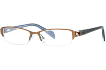Michael Stars MS Treasure SEMS TREA00 Bifocal Prescription Eyeglasses - Caramel SEMS TREA005035 BN