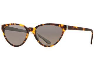 Michael Stars MS Uptowner SEMS UPTO06 Bifocal Prescription Sunglasses SEMS UPTO065540 AM - Lens Diameter 55 mm, Frame Color Amber Ice, Lens Diameter 58 mm
