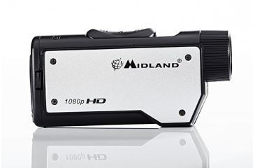 6-Midland Radio 1080p HD Action Cam w/ Submersible Case