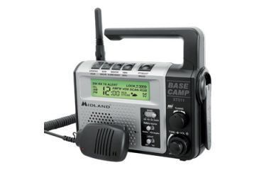 Midland Radio Base Camp 2-way Radio, 7 GMRS,FRS, 7 FRS, 8 GMRS, 26Mile XT511MID