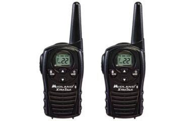 Midland Radio Two-way Radio, 22 x GMRS,FRS, 95040 ft LXT118
