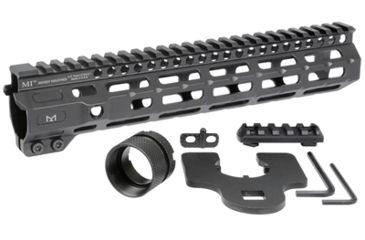 2-Midwest Industries AR-15 Free Float 1-Piece Combat Rail Handguard
