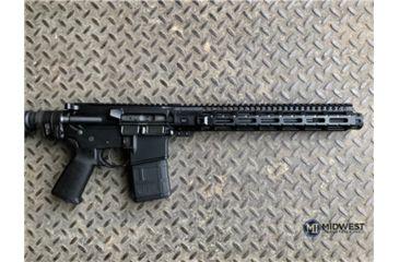 8-Midwest Industries AR-15 Free Float 1-Piece Combat Rail Handguard