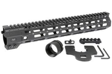 5-Midwest Industries AR-15 Free Float 1-Piece Combat Rail Handguard