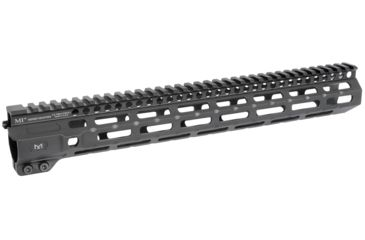 3-Midwest Industries AR-15 Free Float 1-Piece Combat Rail Handguard