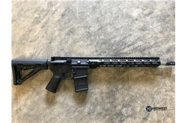 13-Midwest Industries AR-15 Free Float 1-Piece Combat Rail Handguard