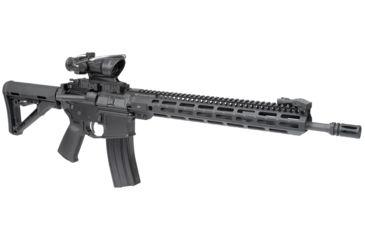 32-Midwest Industries AR-15 Free Float 1-Piece Combat Rail Handguard