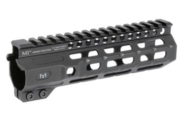 1-Midwest Industries AR-15 Free Float 1-Piece Combat Rail Handguard