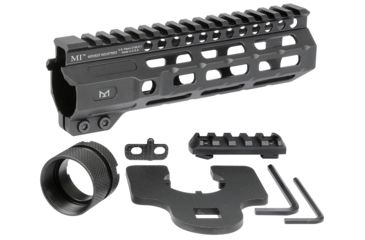14-Midwest Industries AR-15 Free Float 1-Piece Combat Rail Handguard