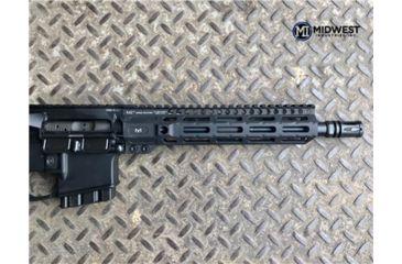 20-Midwest Industries AR-15 Free Float 1-Piece Combat Rail Handguard
