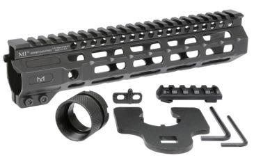 12-Midwest Industries AR-15 Free Float 1-Piece Combat Rail Handguard