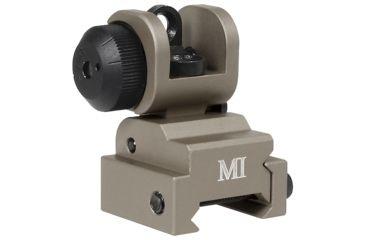 1-Midwest Industries AR Series Emergency Rear Flip Up Sight