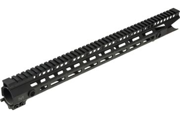 3-Midwest Industries One Piece Free Floating AR Rifles Extended 17.5 Inch Rail, M-LOK Compatible
