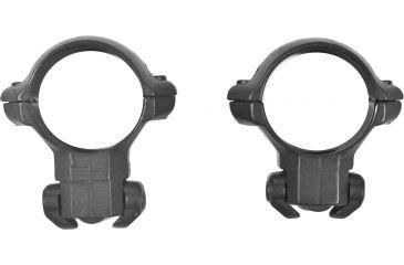 Millet Ruger Scope Rings for Ruger 77, Black - 1in, Medium RR77004