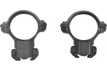 Millet Ruger Scope Rings for Ruger 77, Black - 30mm, Medium RR77006