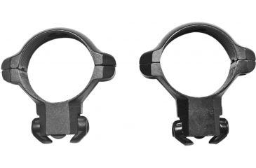 Millet Ruger Scope Rings for Ruger 77, Black - 1in, High RR77005