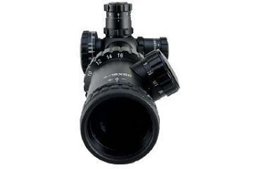 Millett 4-16x50 Illuminated Mil-DotBar, Multi Coat Matte Tactical Riflescope BK81001